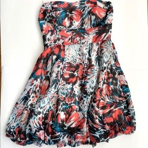 Charlotte Russe strapless dress